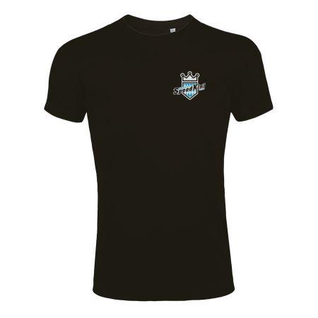 T-Shirt - Schwarz - Vorderansicht