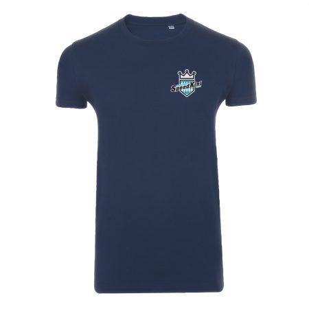 T-Shirt - Blau - Vorderansicht